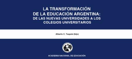 Colegios universitarios: una estrategia para la educación superior (1995)
